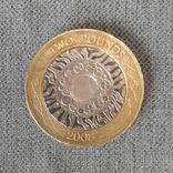 2 фунта 2008. Великобритания, фото №2