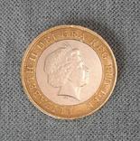 2 фунта 2008. Великобритания, фото №3