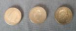 Подборка - 1 фунт 1985, 2008, 2010. Великобритания., фото №3