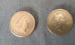 Подборка - 1 фунт 1985, 2008, 2010. Великобритания., фото №4