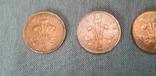Подборка - 2 Пенсов 1971, 1994, 2005, 2016. Великобритания., фото №6