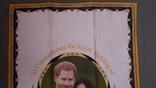 Чайная скатерть новая. Принц Гарри и Меган Маркл., фото №6