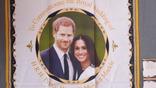 Чайная скатерть новая. Принц Гарри и Меган Маркл., фото №7