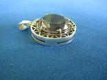 Кулон серебро и камень., фото №3
