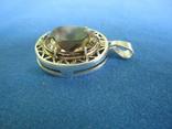Кулон серебро и камень., фото №5