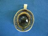 Кулон серебро и камень., фото №8