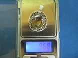 Кулон серебро и камень., фото №10