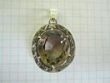 Кулон серебро и камень., фото №11