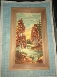 Картина с янтарем, фото №3