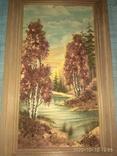 Картина с янтарем, фото №4