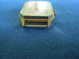 Часы полет кварц женские в позолоте под ремонт., фото №3