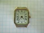 Часы полет кварц женские в позолоте под ремонт., фото №10