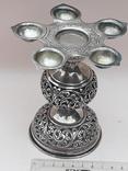 Подставка для благовоний, Индия, серебро, 225 гр., ручная работа, фото №2