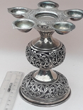 Подставка для благовоний, Индия, серебро, 225 гр., ручная работа, фото №3