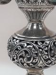 Подставка для благовоний, Индия, серебро, 225 гр., ручная работа, фото №5