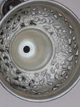 Подставка для благовоний, Индия, серебро, 225 гр., ручная работа, фото №8