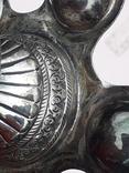 Подставка для благовоний, Индия, серебро, 225 гр., ручная работа, фото №12