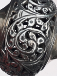 Подставка для благовоний, Индия, серебро, 225 гр., ручная работа, фото №13