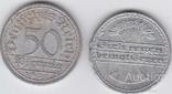 Germany Германия - 50 Pfennig 1922 - A VF, фото №2