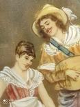 Пара старых миниатюр, фото №3