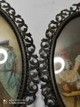 Пара старых миниатюр, фото №11