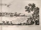 1674 План Ландреси, Франция. Большая карта (62х26, Верже) СерияАнтик, фото №6