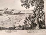 1674 План Ландреси, Франция. Большая карта (62х26, Верже) СерияАнтик, фото №10