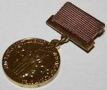 Бронзовая медаль ВДНХ (1966 - 90 гг.) СССР, фото №3