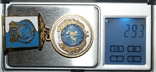 "Медаль ""4 года Межд.комитета ООН по защите прав человека в Украине"", фото №8"