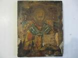 Икона Николай Чудотворец 31х25 см., фото №2