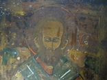 Икона Николай Чудотворец 31х25 см., фото №3