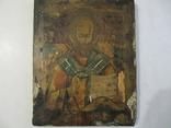 Икона Николай Чудотворец 31х25 см., фото №10