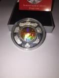 Монета Камбоджи золото-серебряная, фото №5
