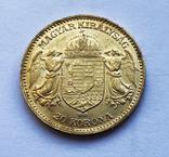 20 крон 1904 года. Австро-Венгрия., фото №2