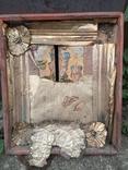 Богородиця в кіоті 50х60см, фото №2