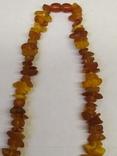 Бусы из янтаря  23 грамма, фото №7