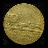 Великобритания 1/2 пенни 1796 Дилижанс, фото №2