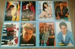 PostCard / Поштова картка з журналу Popcorn (Popcorn Star Card) 8 шт, фото №2
