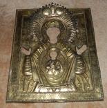 Икона Знамение в серебряном окладе 1793 года, фото №13