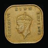 Британская Малайя 1 цент 1943, фото №2