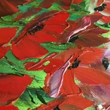 Картина Маковое поле масло 60х70, фото №5