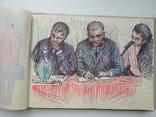 Блокноти з записами і малюнками художника Чалий, фото №8