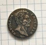 Французская монета.1 франк. Наполеон. Реплика, фото №3