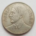 Германия. Третий Рейх. Adolf Hitler Grossdeutsches Reich. 1933 г. Копия, фото №2