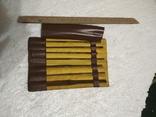 Набор напильники маленькие тонкие 8 шт. советские, фото №2
