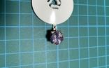 1 Серьга серебро, фото №2