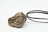Підвіска із залізного метеорита Campo del Cielo, із сертифікатом автентичності, фото №8