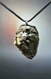 Підвіска із залізного метеорита Campo del Cielo, із сертифікатом автентичності, фото №11