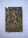 Створка складня(3 праздника),18-19 век+бонус, фото №2