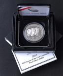 1 Доллар 2013 100 лет движению девочек-скаутов в США (0.900, 26.73г), США Пруф в Коробке, фото №2